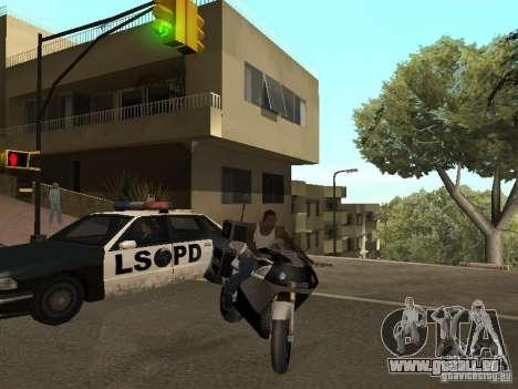 NRG-500 Police für GTA San Andreas zurück linke Ansicht