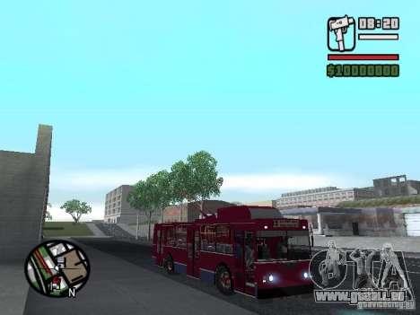 ZIU 682GM 1 pour GTA San Andreas vue de droite