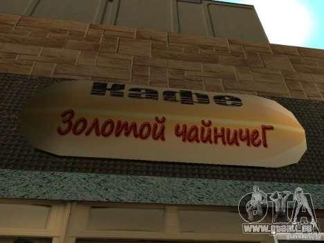 Nouveau Burgershot : ČajničeG or pour GTA San Andreas troisième écran