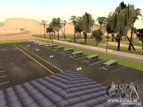5 Bus v. 1.0 für GTA San Andreas zweiten Screenshot