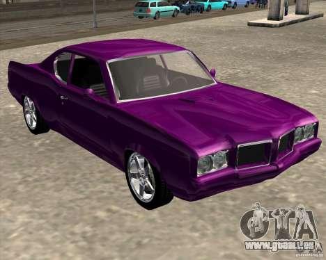 Oldsmobile 442 (Flatout 2) für GTA San Andreas zurück linke Ansicht