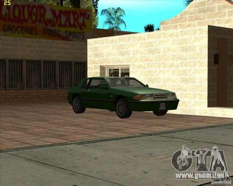 Car in Grove Street für GTA San Andreas neunten Screenshot