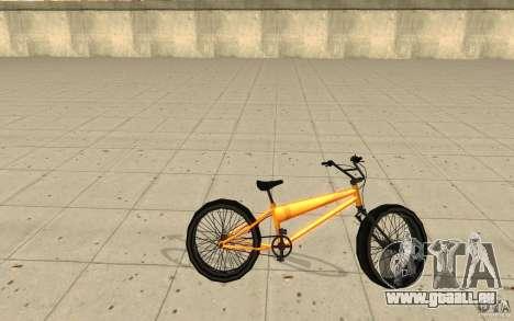 BMX Long Big Wheel Version pour GTA San Andreas laissé vue