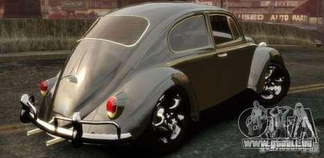 Volkswagen Fusca pour GTA 4 est une gauche