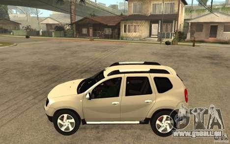 Dacia Duster 2010 SUV 4x4 pour GTA San Andreas laissé vue