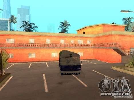 IKARUS 620 pour GTA San Andreas sur la vue arrière gauche