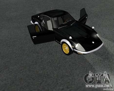 Nissan  Fairlady 240ZG pour GTA San Andreas sur la vue arrière gauche
