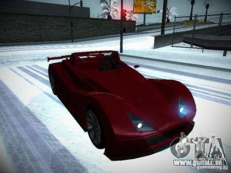 Lada Revolution pour GTA San Andreas vue arrière