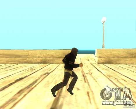 Alex Mercer ORIGINAL pour GTA San Andreas quatrième écran