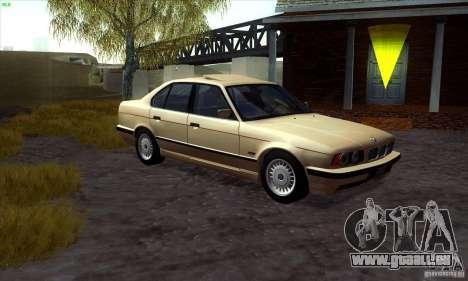 BMW 525 E34 V.3 pour GTA San Andreas