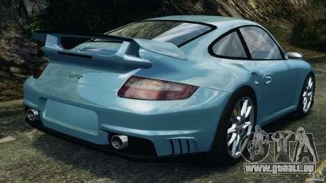 Porsche 997 GT2 pour GTA 4 Vue arrière de la gauche