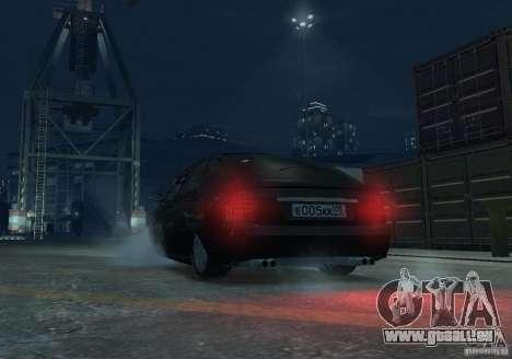 À hayon LADA priora pour GTA 4 est une vue de l'intérieur