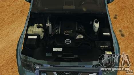 Nissan Frontier DUB v2.0 pour GTA 4 est une vue de l'intérieur