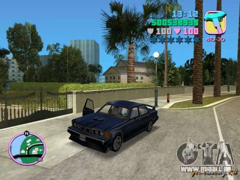 BMW 635 CSi pour GTA Vice City
