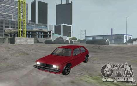Volkswagen Rabbit 1986 für GTA San Andreas