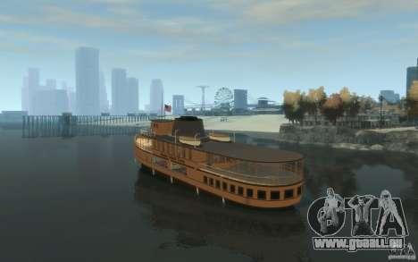 Staten Island Ferry für GTA 4 hinten links Ansicht