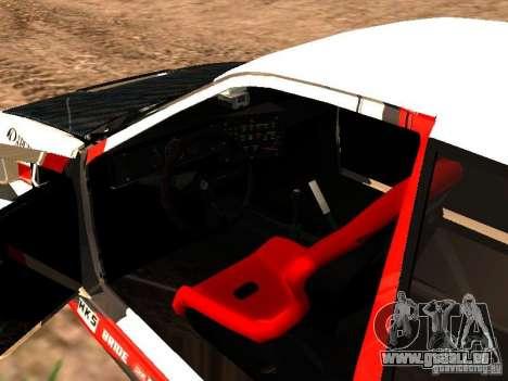 Toyota AE86 Coupe für GTA San Andreas Innenansicht