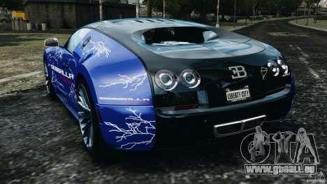 Bugatti Veyron 16.4 Super Sport 2011 v1.0 [EPM] pour GTA 4 Vue arrière de la gauche