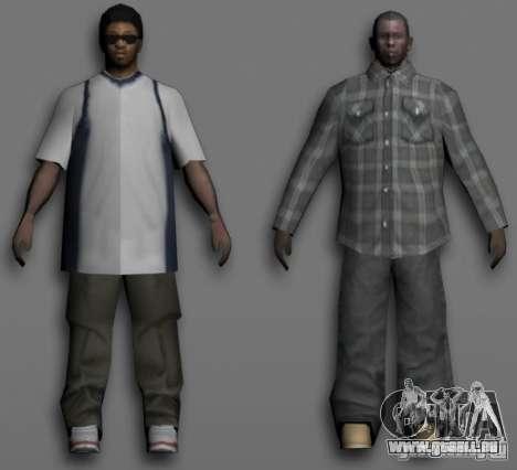 Beta Peds pour GTA San Andreas cinquième écran
