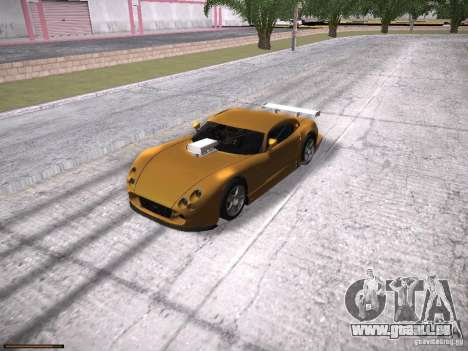 TVR Cerbera Speed 12 für GTA San Andreas Seitenansicht
