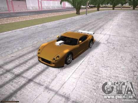 TVR Cerbera Speed 12 pour GTA San Andreas vue de côté