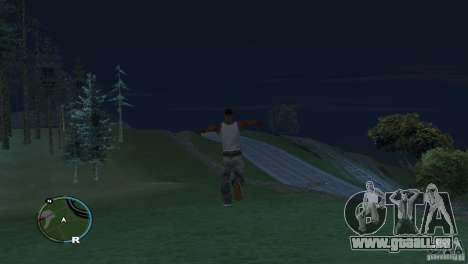 GTA IV HUD pour un écran large (16:9) pour GTA San Andreas quatrième écran