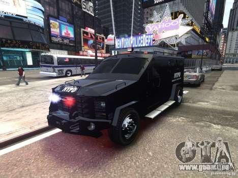 Lenco BearCat NYPD ESU V.1 pour GTA 4