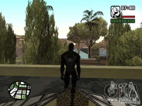 Spiderman Feind in Reflexion für GTA San Andreas fünften Screenshot