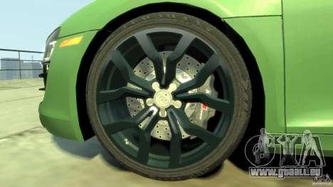Audi R8 5.2 FSI quattro v1 pour GTA 4 est un côté