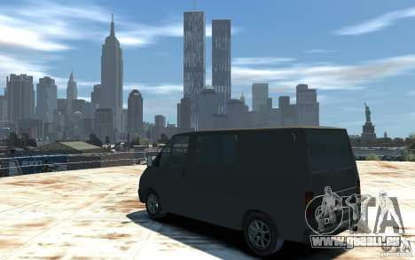 Ford Transit 1999 für GTA 4 linke Ansicht