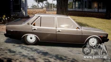 Fiat 131 Mirafiori 1974 pour GTA 4 est une gauche