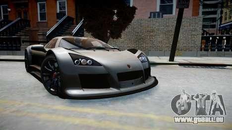 Gumpert Apollo Sport 2011 pour GTA 4 est un droit