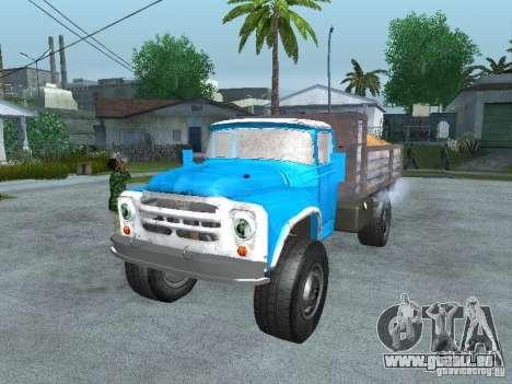 ZIL-130-Müllwagen für GTA San Andreas