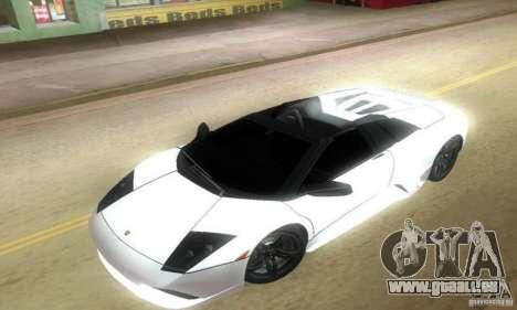 Lamborghini Murcielago LP640 Roadster pour GTA Vice City