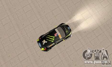 Ford Fiesta 2011 Ken Blocks für GTA San Andreas rechten Ansicht