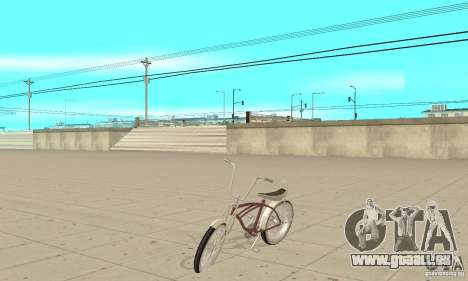 Lowrider Bicycle pour GTA San Andreas