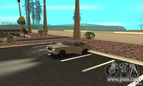 Chevy Monte Carlo [F&F3] pour GTA San Andreas vue de dessus