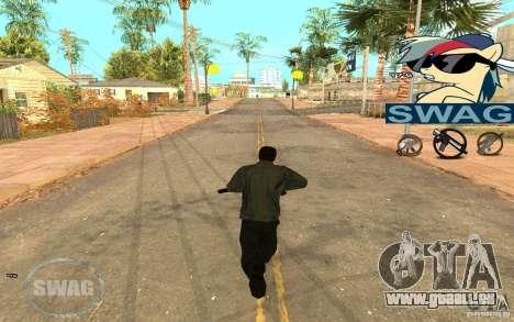 C-HUD Pony SWAG pour GTA San Andreas