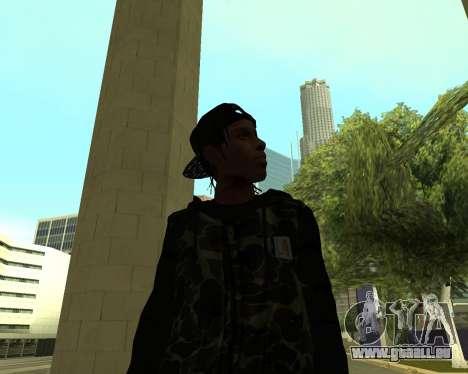 A$AP Rocky pour GTA San Andreas cinquième écran