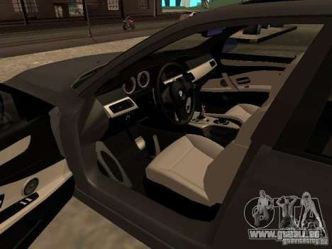 BMW M5 E60 2009 v2 für GTA San Andreas Seitenansicht