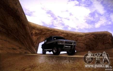 GAZ 2402 4 x 4 PickUp für GTA San Andreas Unteransicht