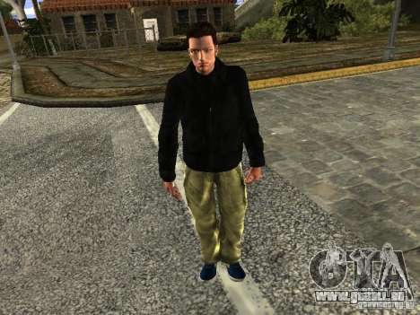 Claude HD Remake (Beta) für GTA San Andreas zweiten Screenshot