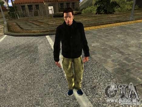 Claude HD Remake (Beta) pour GTA San Andreas deuxième écran