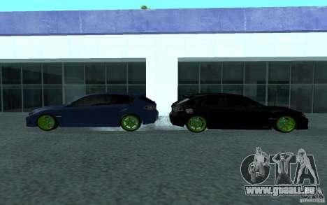 Subaru Impreza für GTA San Andreas zurück linke Ansicht