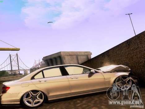 Mercedes-Benz C36 AMG für GTA San Andreas rechten Ansicht