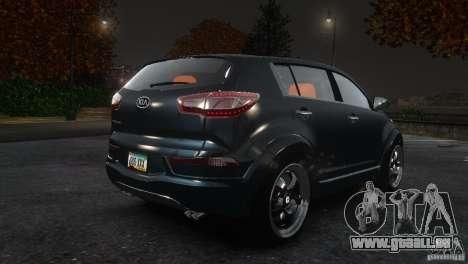 Kia Sportage 2010 v1.0 pour GTA 4 est un droit