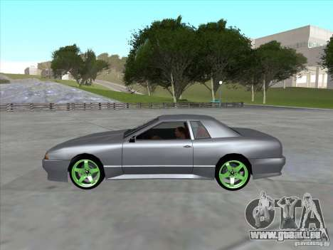 Elegy Full VT v1.2 pour GTA San Andreas vue de droite