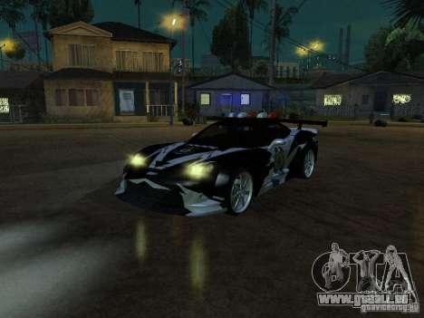 Chevrolet Corvette C6 de NFS MW pour GTA San Andreas