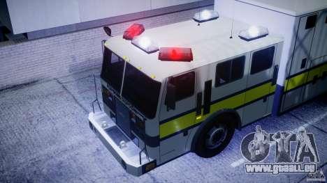 Royal Logistic Corps Bomb Disposal Truck für GTA 4 Rückansicht