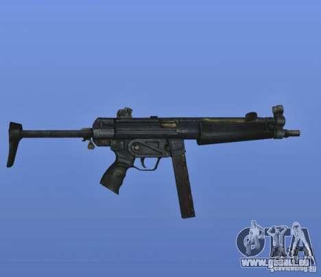 S.T.A.L.K.E.R. MP5 pour GTA 4